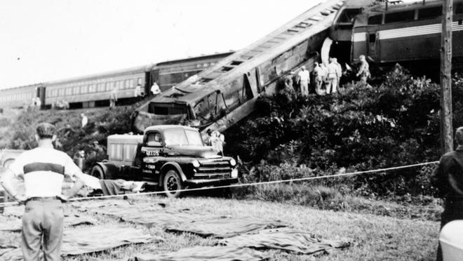 On Sept. 11, 1950, the westbound passenger train Spirit of St. Louis hit a troop train bound for Indiana near West Lafayette. 33 Soldiers were killed and almost 300 were injured in the crash.