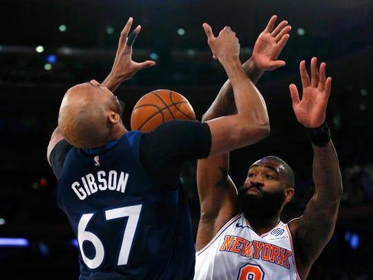 Kyle O'Quinn (right) figures to be a key reserve for