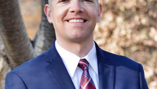 James Spadola, a Wilmington resident and Newark police officer, has announced he will run for state Senate representing Wilmington North.