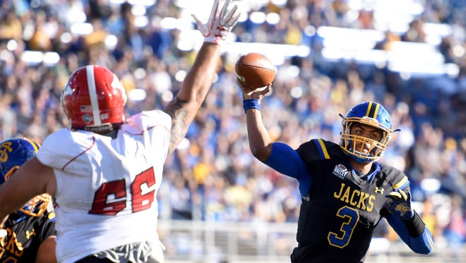SDSU's Taryn Christion (3) will be one of the key weapons as the Jacks look to take the next step in 2017.