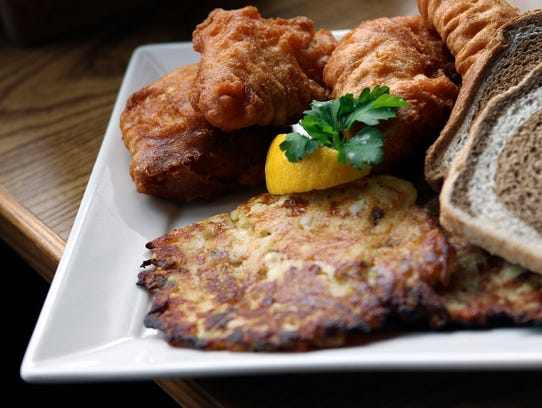 Angelina's Ristorante serves its Friday fish fry with