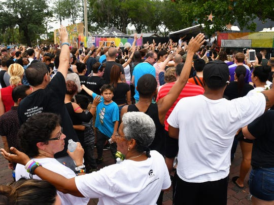 Monday marked the anniversary of the Pulse nightclub massacre that killed 49 people and wounded over 50 others. A packed public event was held Monday at the site of the killings.