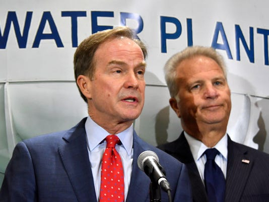 David Leyton and Bill Schuette