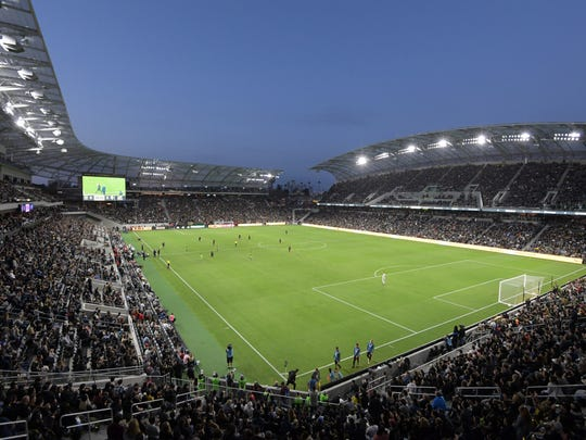 USP MLS: SEATTLE SOUNDERS AT LOS ANGELES FC S SOC LAF USA CA
