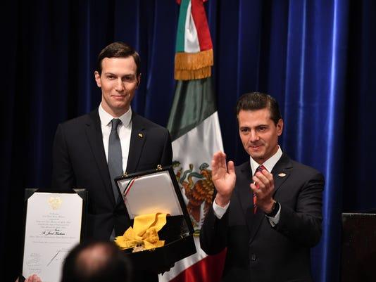 ARGENTINA-G20-SUMMIT-KUSHNER-PENA NIETO