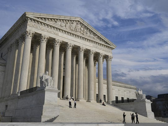 A view of the Supreme Court in Washington, Friday, March 15, 2019. The Supreme Court is rejecting an appeal from a company owned by an unidentified foreign government that has refused to turn over information demanded by special counsel Robert Mueller's investigation.
