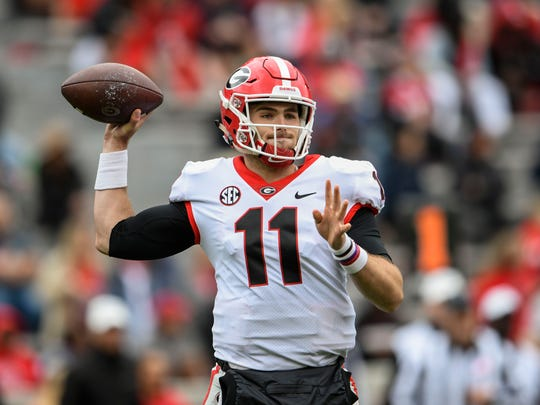 Jake Fromm led Georgia to the College Football Playoff in 2017 and the SEC title game in 2018.