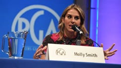 Molly Smith speaks at the 8th Annual Produced By Conference