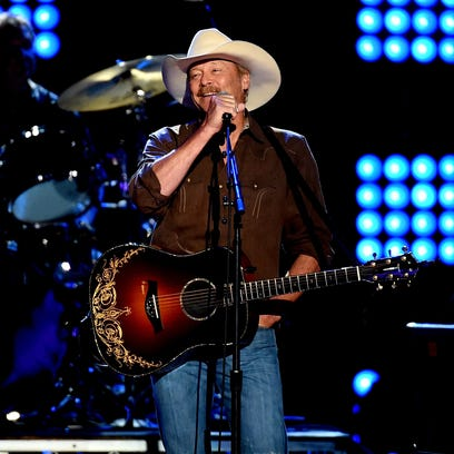 Alan Jackson performs at the 2012 BamaJam Music and Arts Festival.