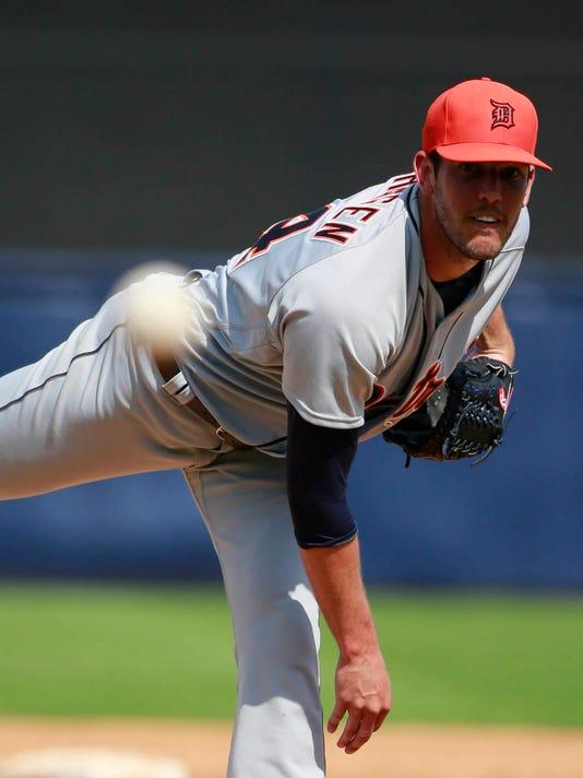 MLB: Spring Training-Detroit Tigers at New York Yankees