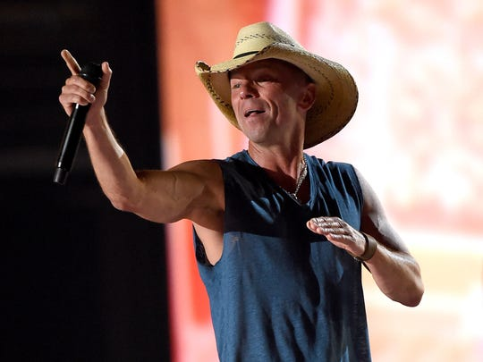 Kenny Chesney performs during the 50th Academy Of Country Music Awards.