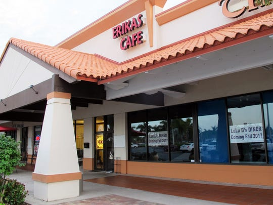 LuLu B's Diner is targeted to open this fall in the former spaces of Erika's Cafe and The Gift Tree at Green Tree Center in North Naples.