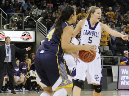 Campbell County sophomore Mackenzie Schwarber makes