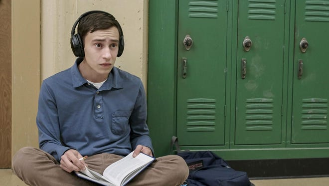 Sam Gardner (Keir Gilchrist) is a high school senior on the autism spectrum in the Netflix comedy, 'Atypical.'