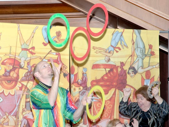 The Hampel Family Circus has delighted Circus Day crowds for years with magic, juggling and comedy.