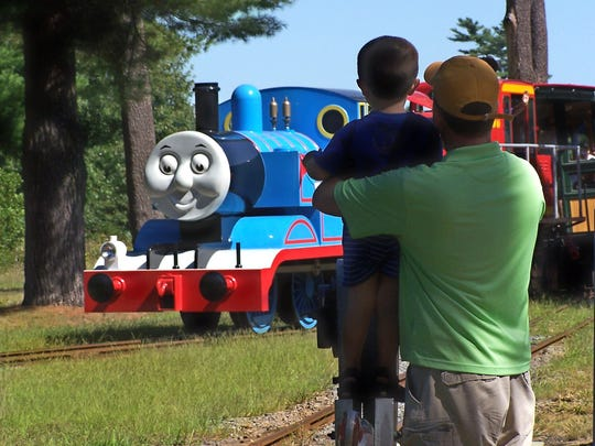 """This fall, """"Thomas & Friends"""" returns to the Virginia & Truckee Railroad in historic Virginia City, Nevada for a Day Out With Thomas."""