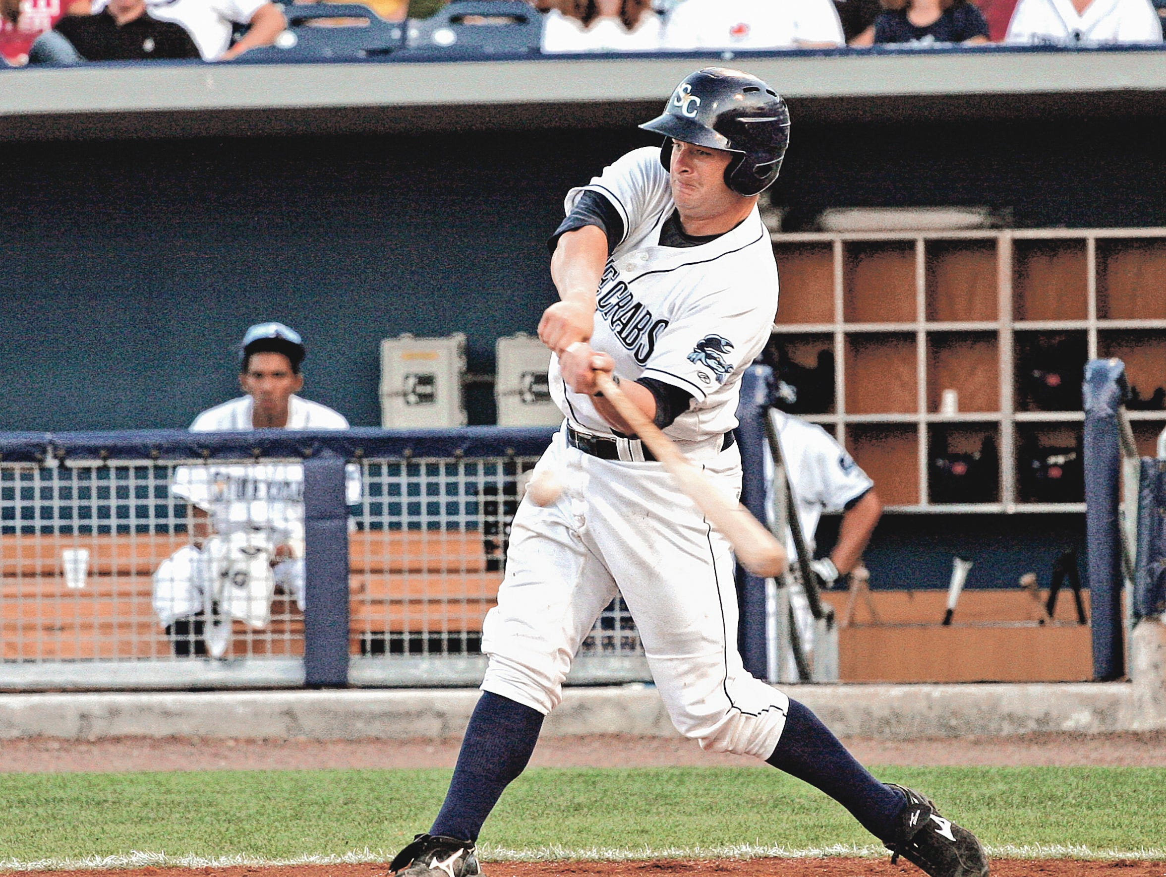 Stephen Vogt during his time in the minor leagues.
