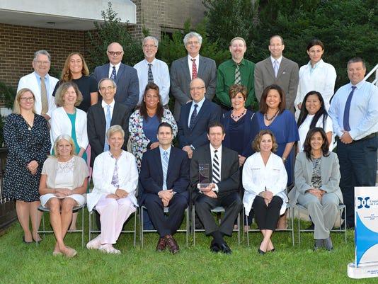 Heartbeats: JFK Medical Center earns the Outstanding Achievement Award PHOTO CAPTION