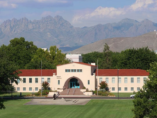 New Mexico State University's Hadley Hall, holding administrative offices including its human resources department.