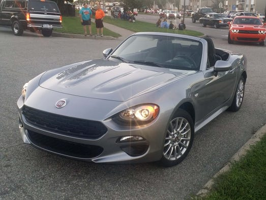 With retro-styling that updates the Fiat 124 Spider's