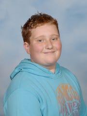 Thaddeus J. Hale, a C.V. Koogler Middle School student,