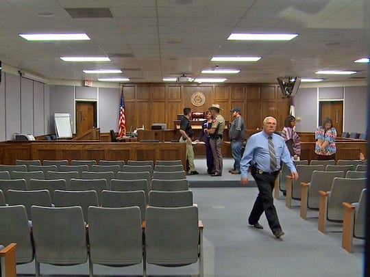 This Stephenville courtroom will be the focus of national