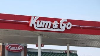 Kum & Go is building a new convenience store at 73rd Street and University Avenue in Windsor Heights. It replaces an older, smaller store on the site.