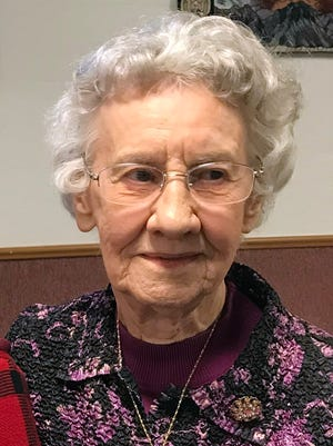 Aunt Gladys will be 95 in April. Following a healthful diet has surely contributed to her longevity.