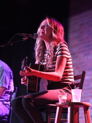Carly Pearce performs at Listening Room Cafe on Tuesday, in Nashville.