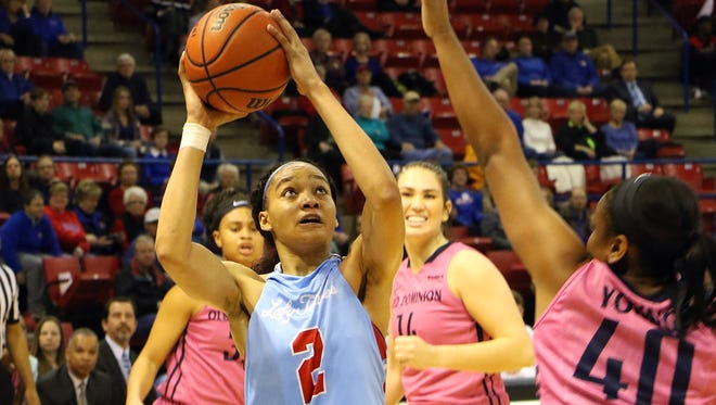Louisiana Tech senior Whitney Frazier earned First-Team All-Conference USA honors Sunday.