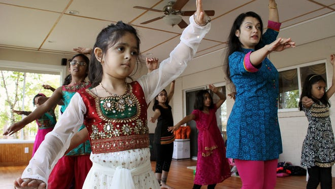 Rossana Bandyopadhyay teaches students of all ages at her studio in Mason.