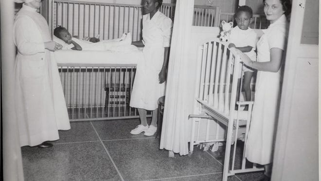 The colored ward at the old UWF hospital.