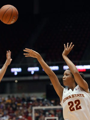 Iowa State's Brynn Williamson, seen during a game last season, scored a career-high 23 points against Fairfield Sunday.