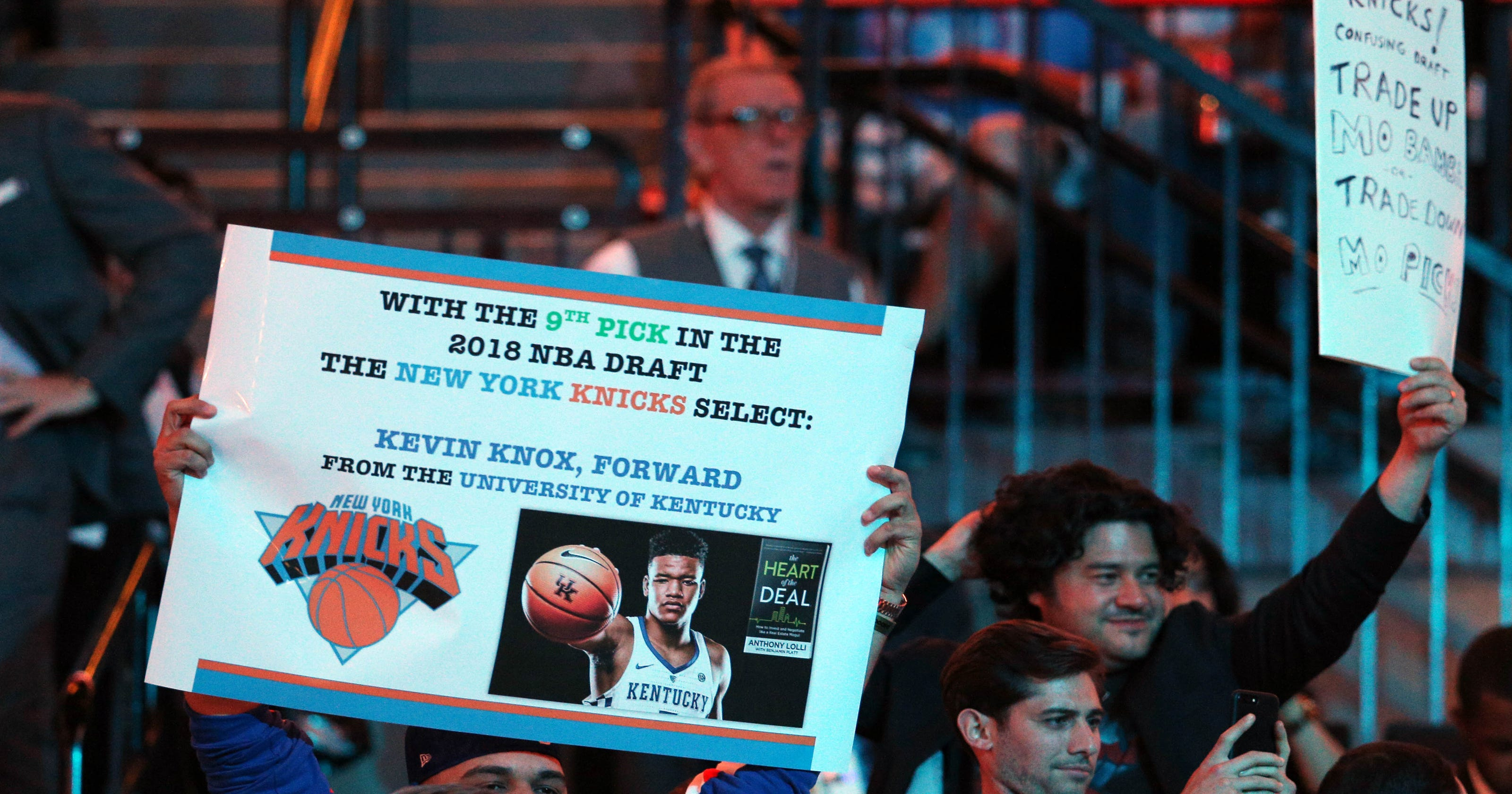 New York Knicks take Kevin Knox in NBA Draft with No. 9 pick  Twitter reacts 1a94f5a87