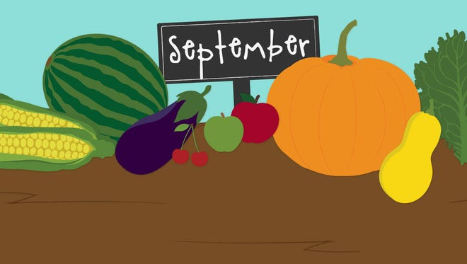 What's at the farmers market in the fall?