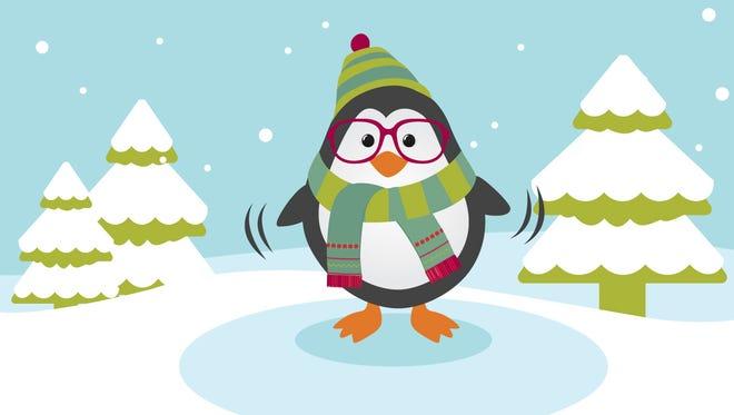 Winter walking safety: Walk like a penguin