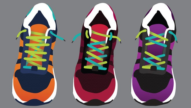Shoe lacing tricks for pain-free running