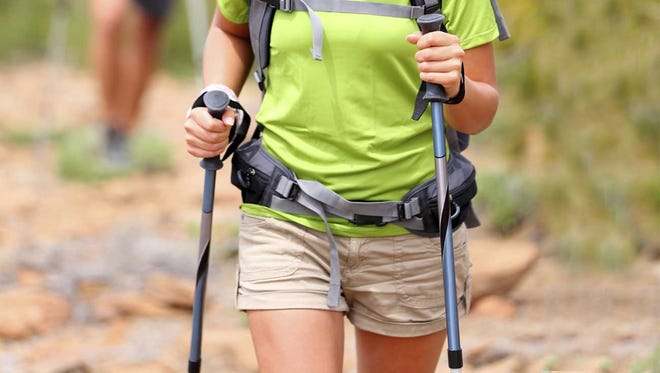 Amp up your strolls with walking poles