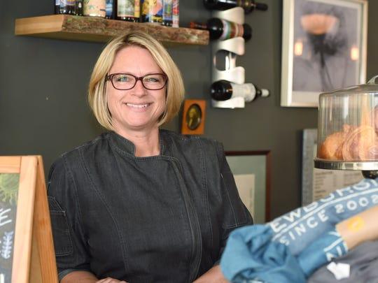 Jodi Cummings, chef and owner of Caffe Macchiato in