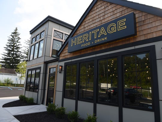 A view of the exterior of Heritage Food & Drink in