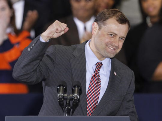 Former Congressman Tom Perriello announced a surprise bid for the Virginia governor's office.