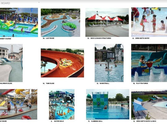 Features planned for the regional outdoor aquatics