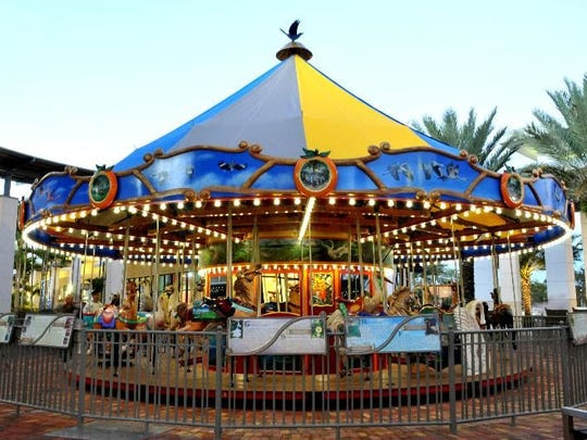 CAROUSEL CONCERTHON - Proceeds from rides on the carousel at the 6th Annual Carousel Concerthon will benefit the Grace Notes Foundation. The Concerthon will be from 10 a.m. to 10 p.m., Saturday, Feb. 18 at Downtown at the Gardens, located at 11701 Lake Victoria Gardens Ave., in Palm Beach Gardens.  For more information, go to www.GraceNotesMusicFoundation.org or email GraceNotesMusicFoundation@gmail.com.