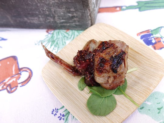 Grilled quail with Arizona fig chutney from Rancho