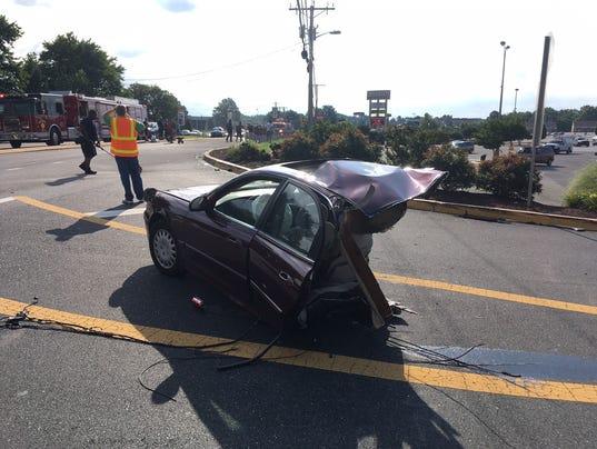Chapman crash
