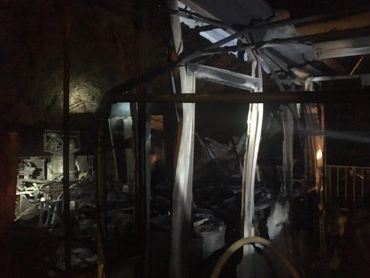 Ventura Structure Fire