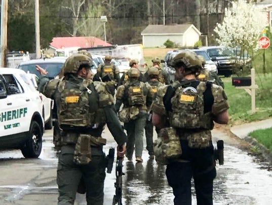 Blount County SWAT team