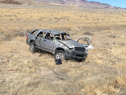 I-80 crash near Lovelock