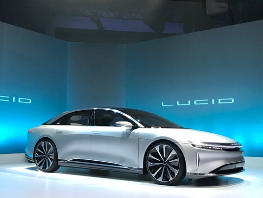 Lucid Air Is Private Jet On Wheels
