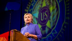 Hillary Clinton, Democratic Presidential candidate,